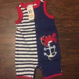 5 for $20 First impressions Baby boy romper